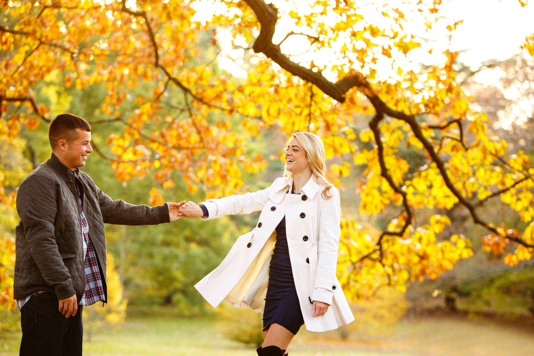 Autumn Engagement Shoot-Caitlin and Chris