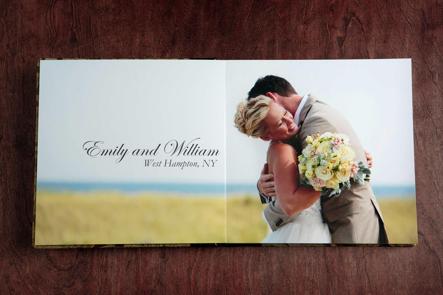 Wedding Albums Modern Wedding graphy by Denise Chastain