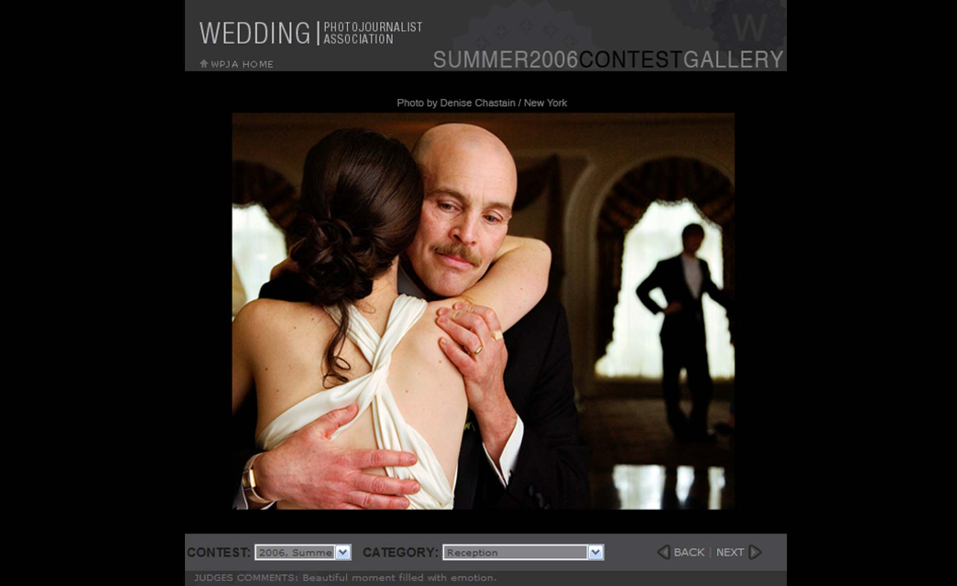 The Wedding Photojournalist Association - Modern Wedding Photography by Denise Chastain