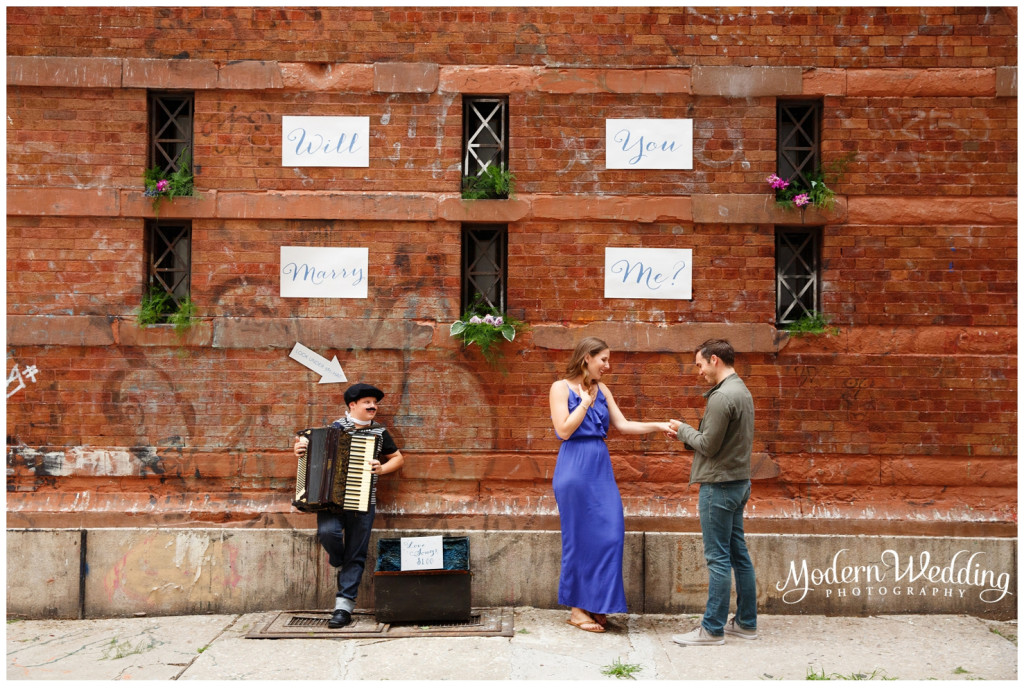 New York City Marriage Proposal.
