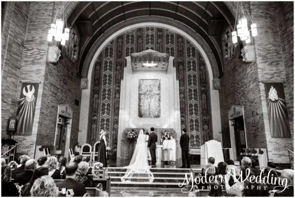 Saint Raymond's Church Wedding East Rockaway