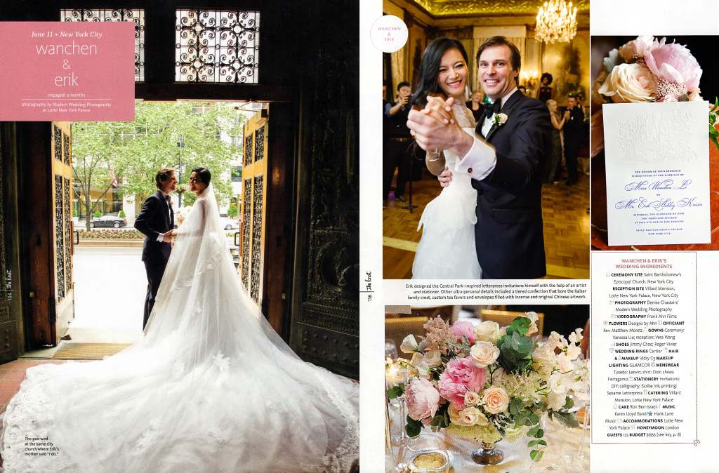 Published Weddings and Articles