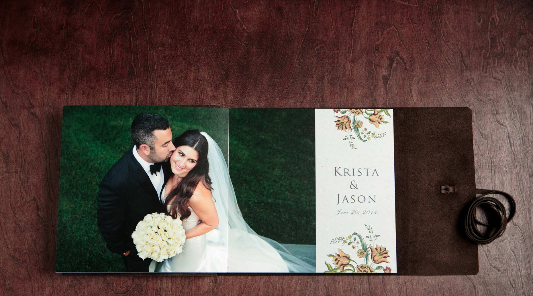 Krista And Jason S Summer Wedding Album Modern Wedding