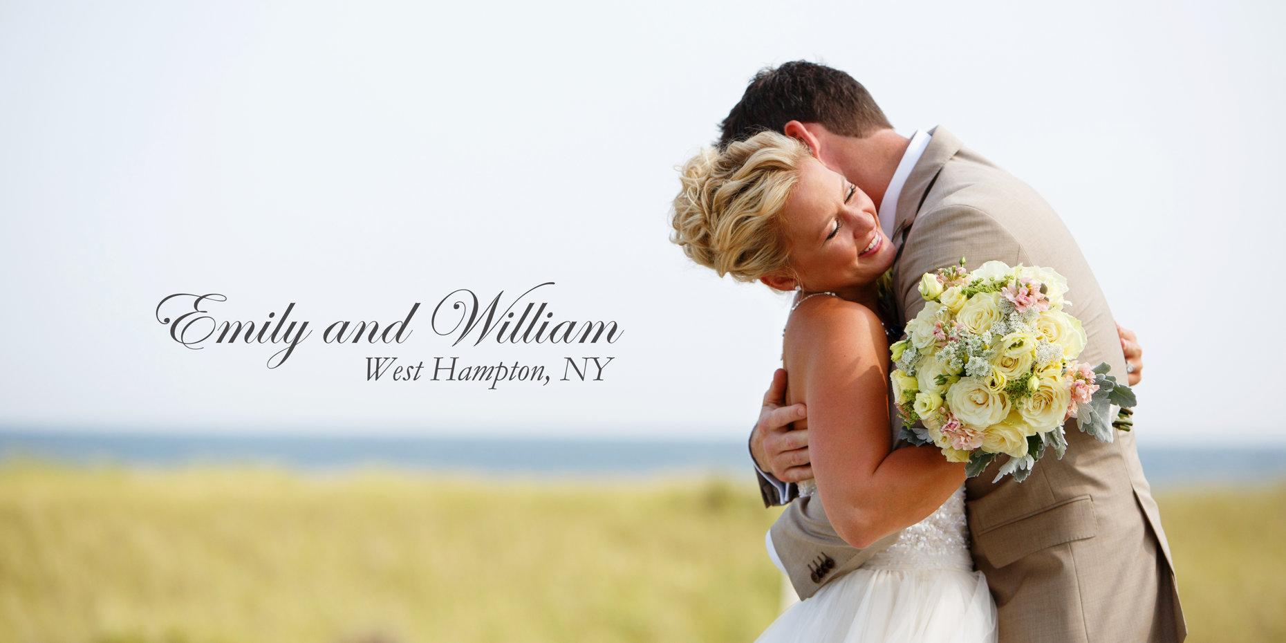 West Hampton Beach Wedding - Emily and Billy